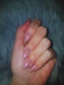 Rosé Chrom Nails