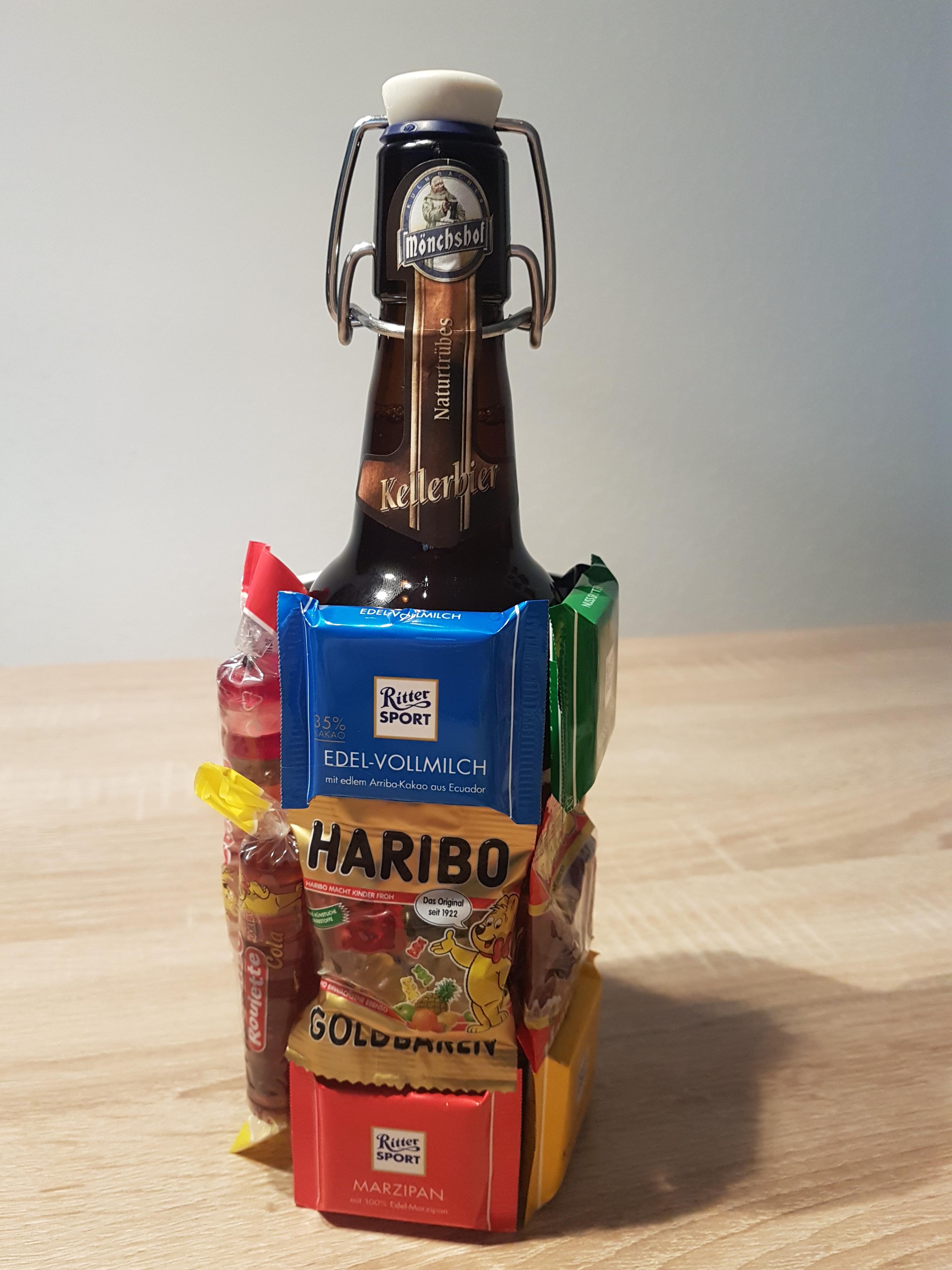 Halbezeit: das Biergschenk