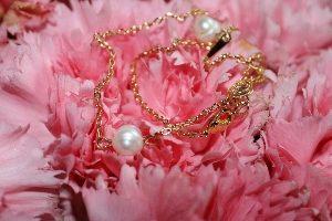 Halskette vergoldet mit Süßwasserzuchtperle Facination Beauty