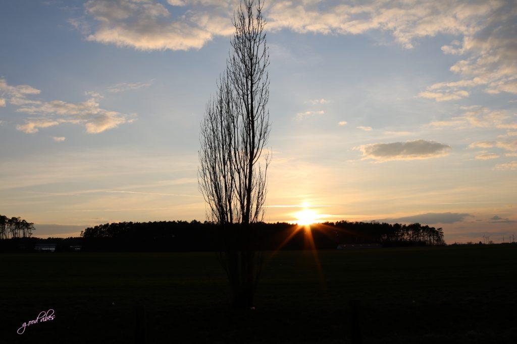 Sonnenuntergang Cadolzburg