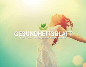 Gesundheitsblatt, eileens good vibes
