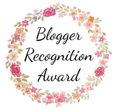 Blogger Recognition Award Nominierung