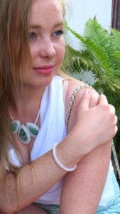 Hals- Armkette, Fascination Beauty by Lina Metzler, eileens good vibes