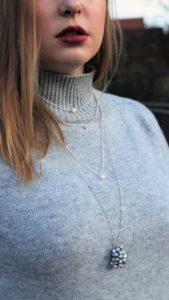 Halsketten Fascination Beauty by Lina Metzler, eileens good vibes