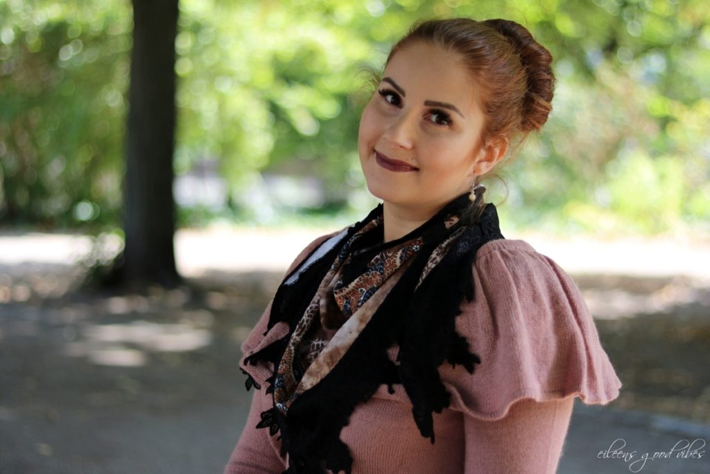 braunes Seidetuch Fascination Beauty by Lina Metzler, eileens good vibes