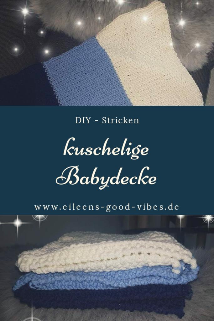 DIY gestricke Babydecke, eileens good vibes