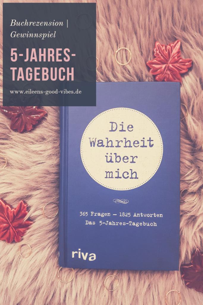 Pinterest Die Wahrheit über mich, mvg Verlag, 5 Jahres Tagebuch, eileens good vibes