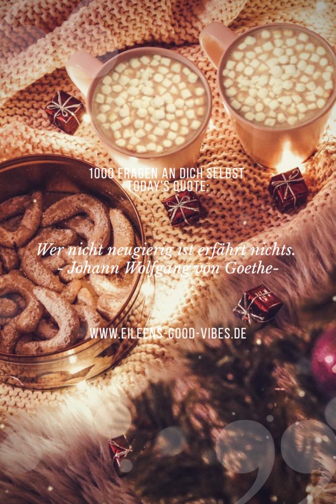 Cozy Christmas, 1000 Fragen an dich selbst #7, eileens good vibes, Fragen, Selbstfindung, Pinterest,