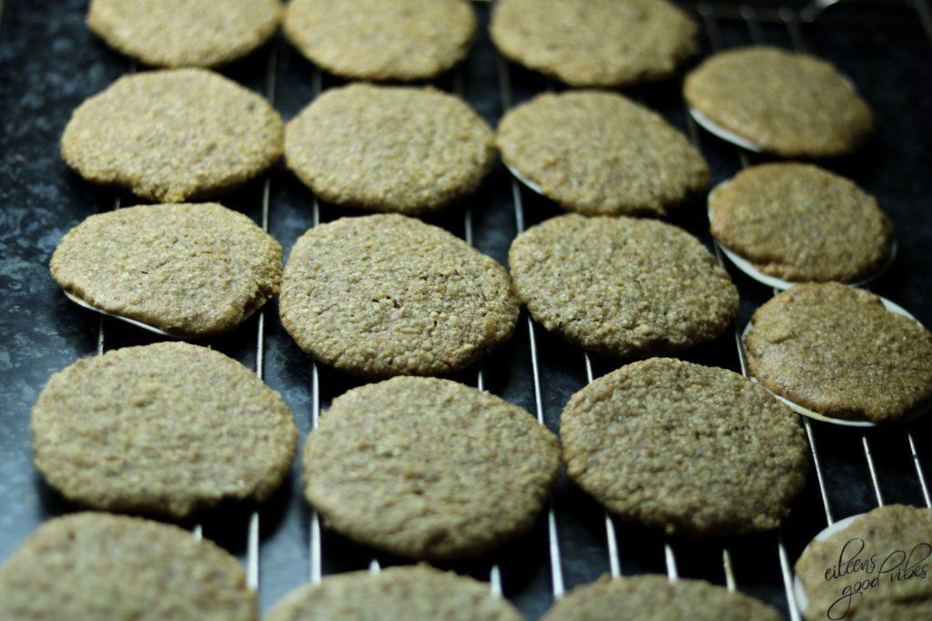Lebkuchenrezept, Thermomix, Lebkuchen auf Oblaten fertig gebacken, eileens good vibes