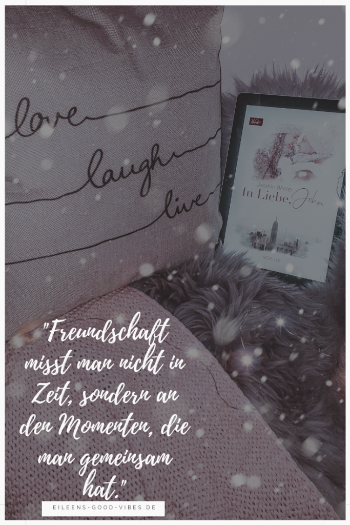 In Liebe, John, Jasmin Winter, eileens good vibes, Buchrezension