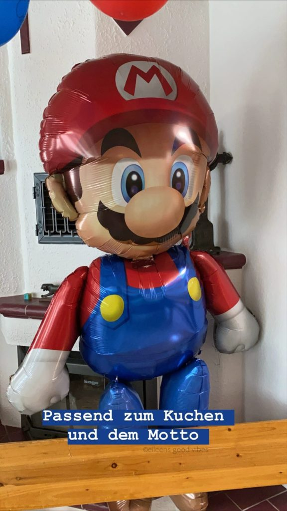 Super Mario Luftballon