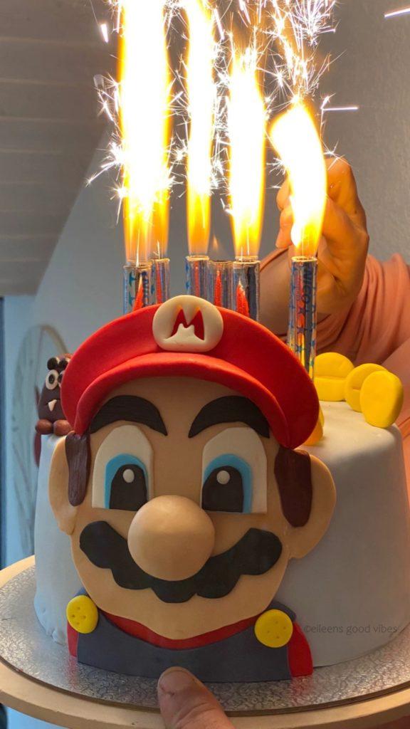 Monatsrückblick Super Mario Torte