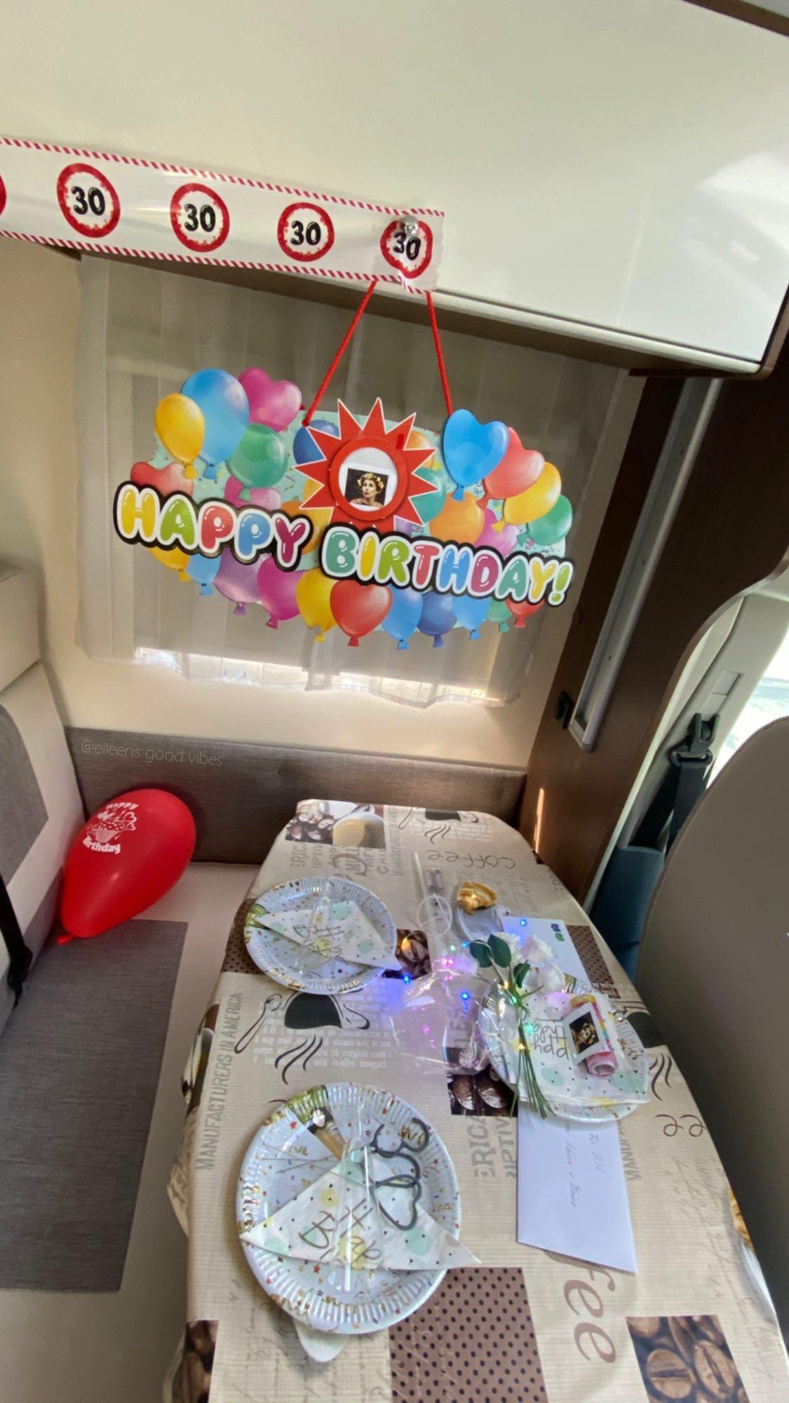 Geburtstagsüberraschung Wohnmobil