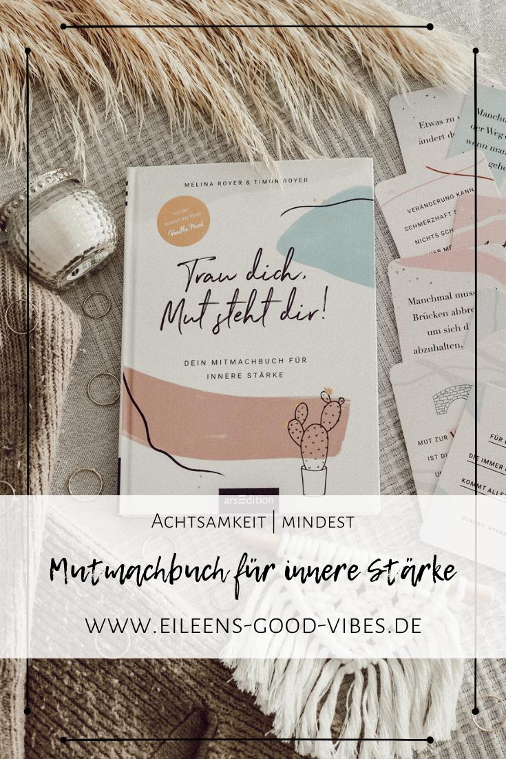 Beitrag mutig: Buch und Kartenset von Trau dich, Mut steht dir mit Deko