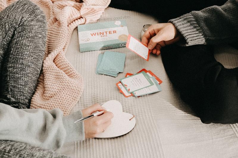 Winter Quiz | gemütliches Kartenspiel | hygge living