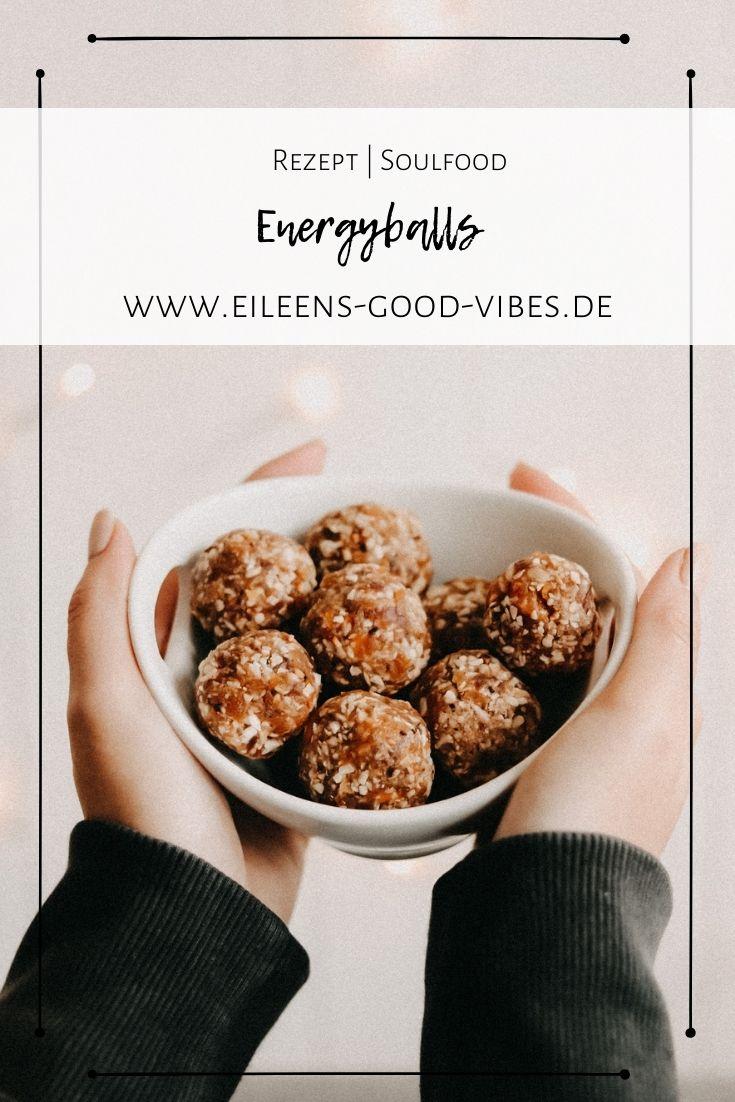 Rezept Energyballs Bild für Pinterest