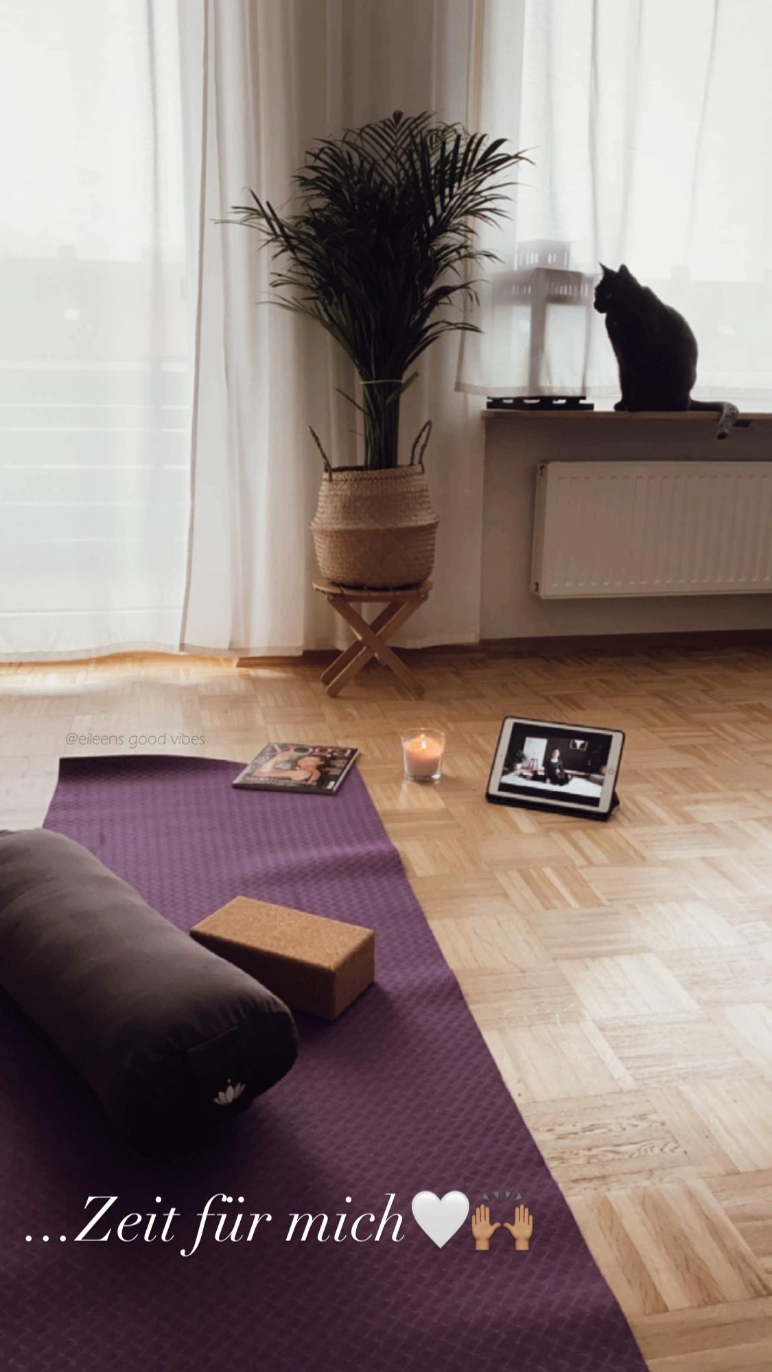 Yoga Entspannungsbereich